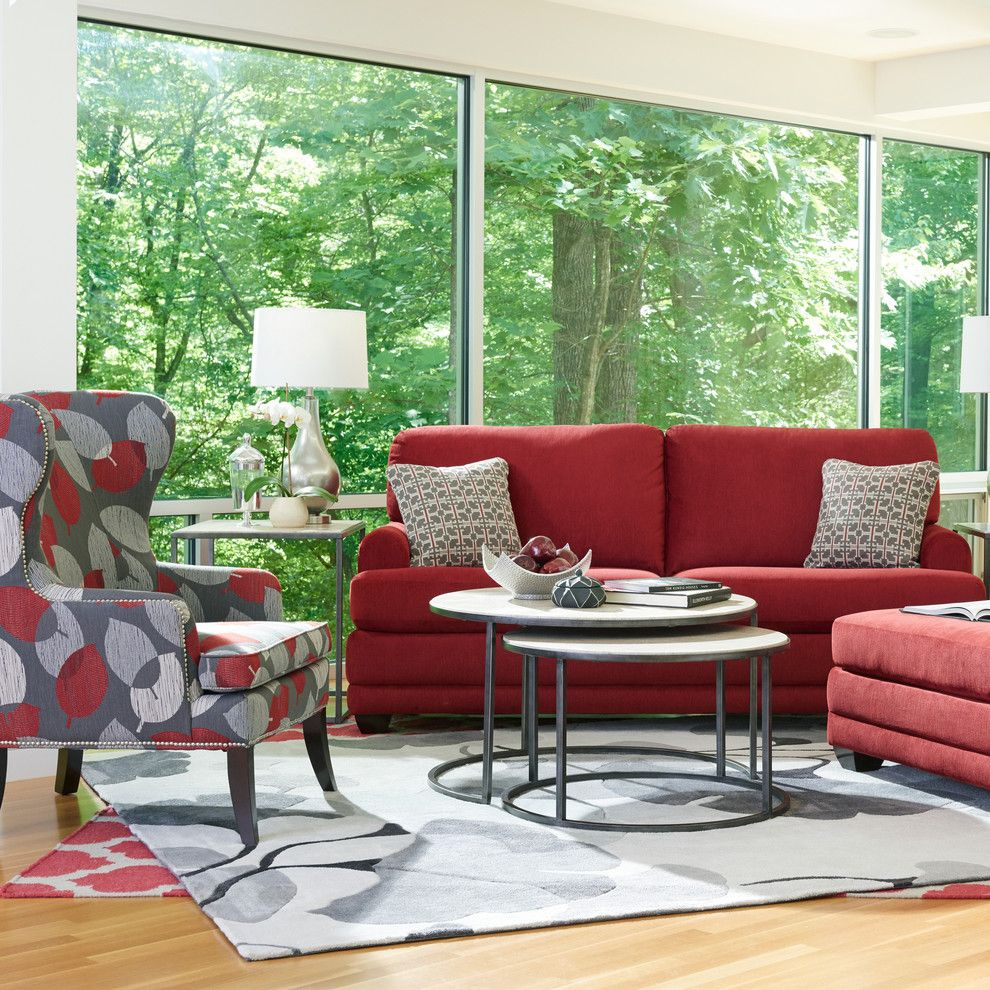 Pilgrim Furniture City for a Transitional Living Room with a Area Rug and La Z Boy by La Z Boy