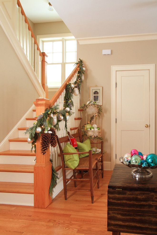 Pinecone Hill for a Farmhouse Staircase with a Switch Back Stairs and Linden Hills Farmhouse by the Gudhouse Company