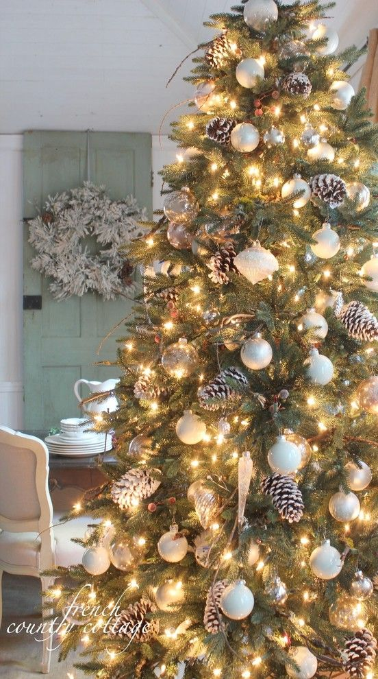 Pinecone Hill for a Rustic Spaces with a Beautiful Christmas Trees and Balsam Hill: 12 Bloggers of Christmas by Balsam Hill