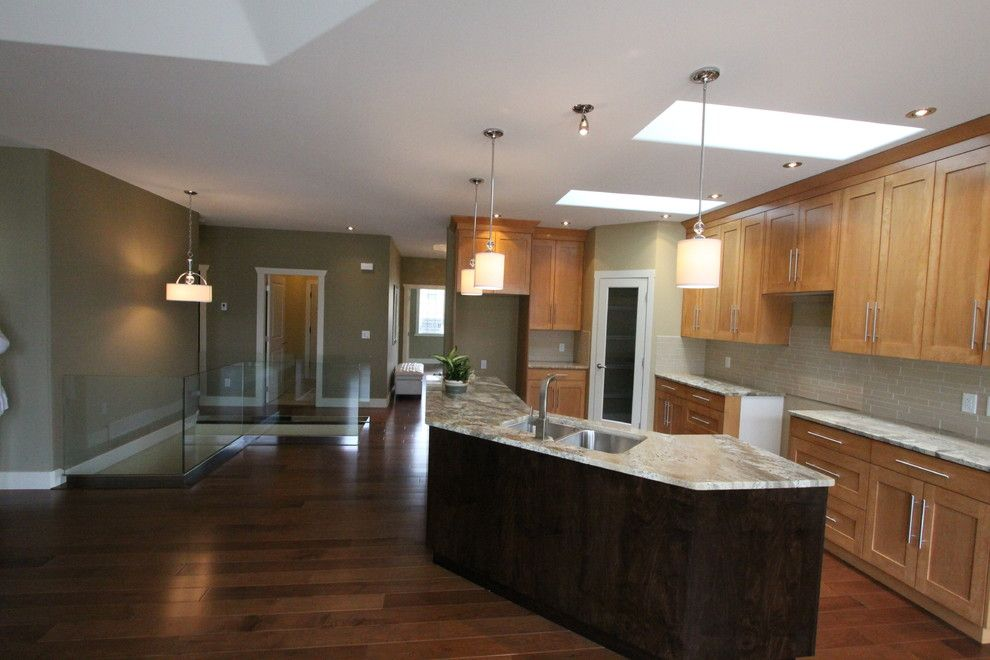 Pineview Estates for a Contemporary Kitchen with a Island and Pineview Estates by Design & Decor by Shelley