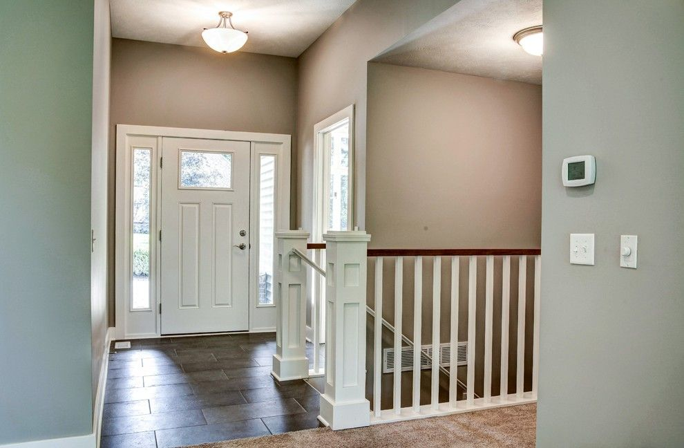Pineview Estates for a Traditional Entry with a Modern Design and Pineview by Lown Homes Llc