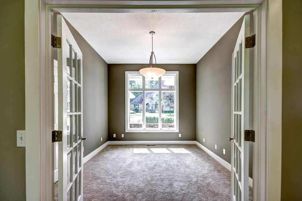 Pineview Estates for a Traditional Home Office with a Open Bedroom and Pineview by Lown Homes Llc