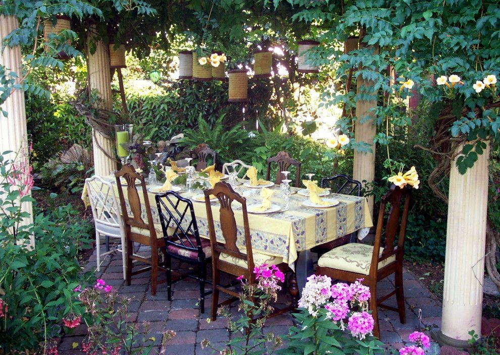 Pink Sands Bahamas for a Eclectic Patio with a Outdoor Dining and Jary Ralston by Jaryr