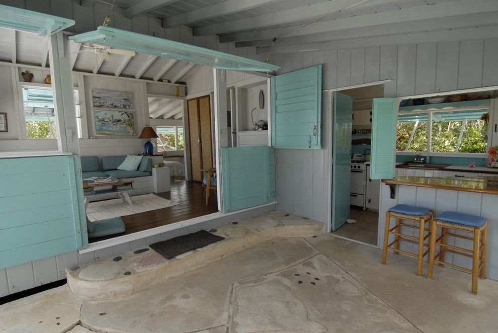 Pink Sands Bahamas for a Tropical Kitchen with a Tropical and Bahamian Open House by Brenda Olde