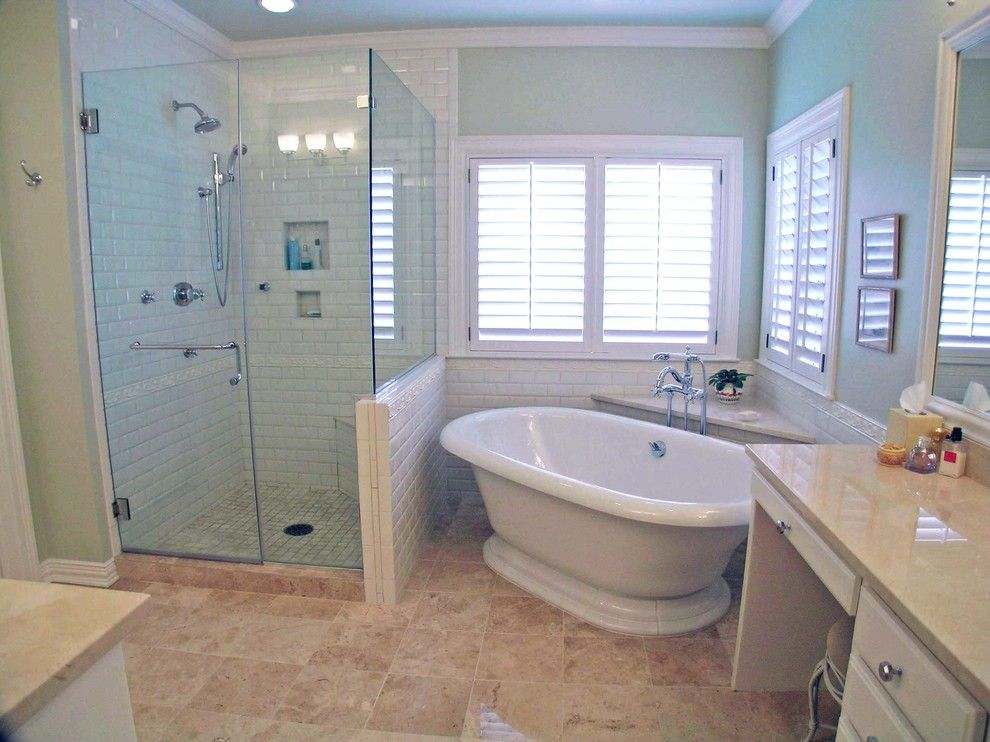 Places to See in Austin for a Traditional Bathroom with a Transitional and Bluff Remodel by Village Interior Design Llc