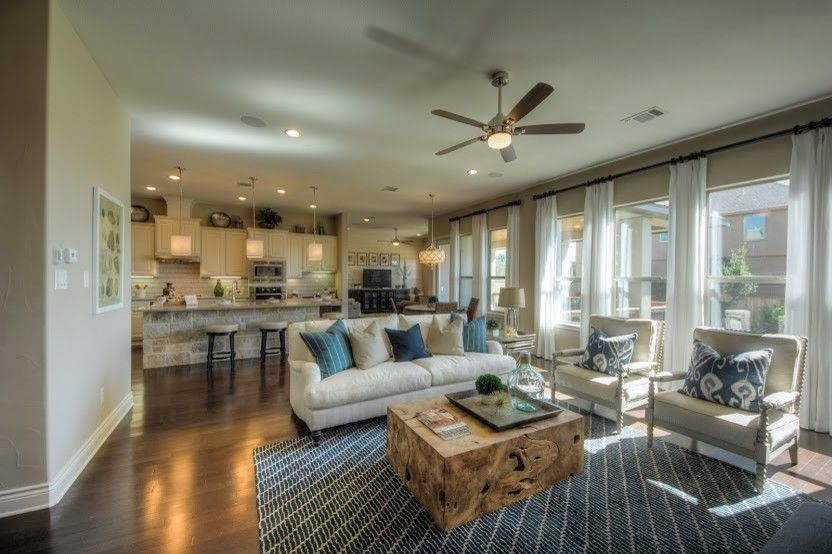 Places to See in Austin for a Transitional Living Room with a Casual Elegance and 202 Shannon Circle by Dy Lynne Décor, Inc.