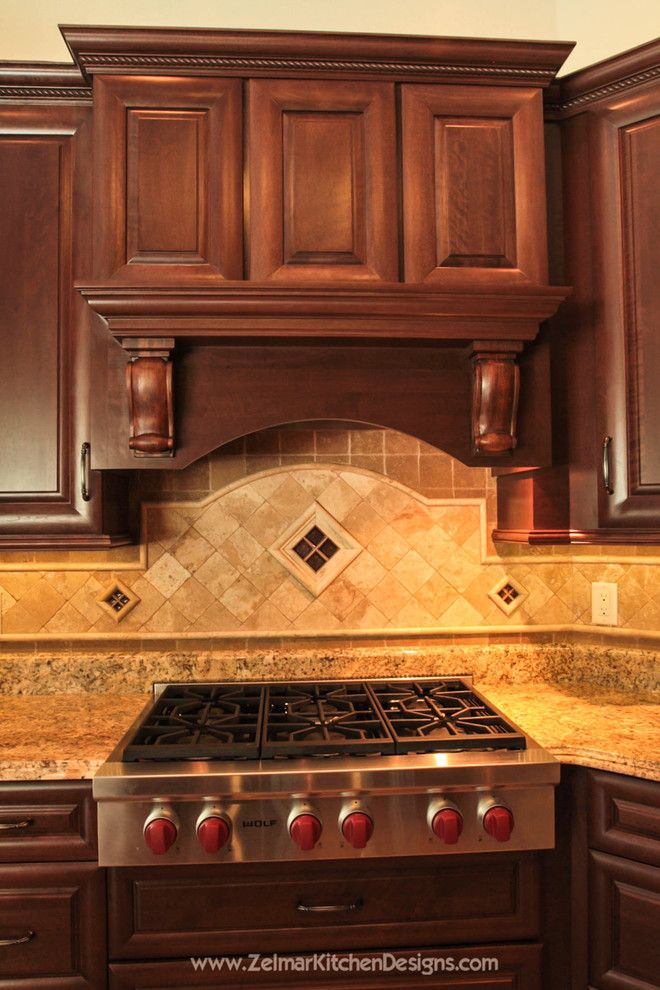 Pleasure Island Orlando for a Traditional Kitchen with a French Pattern Floors and Deaton Home Remodel by Zelmar Kitchen Designs & More, LLC
