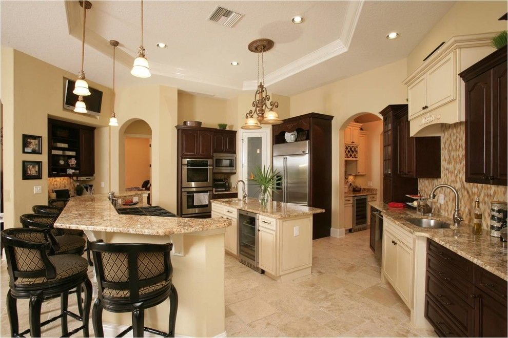 Pleasure Island Orlando for a Transitional Kitchen with a Contractor and Sanford Custom Home by Empire Custom Builders, Inc.