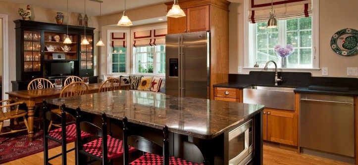 Plumb Crazy for a Traditional Kitchen with a Traditional Home and Redesigned Reprieve by Teakwood Builders, Inc.