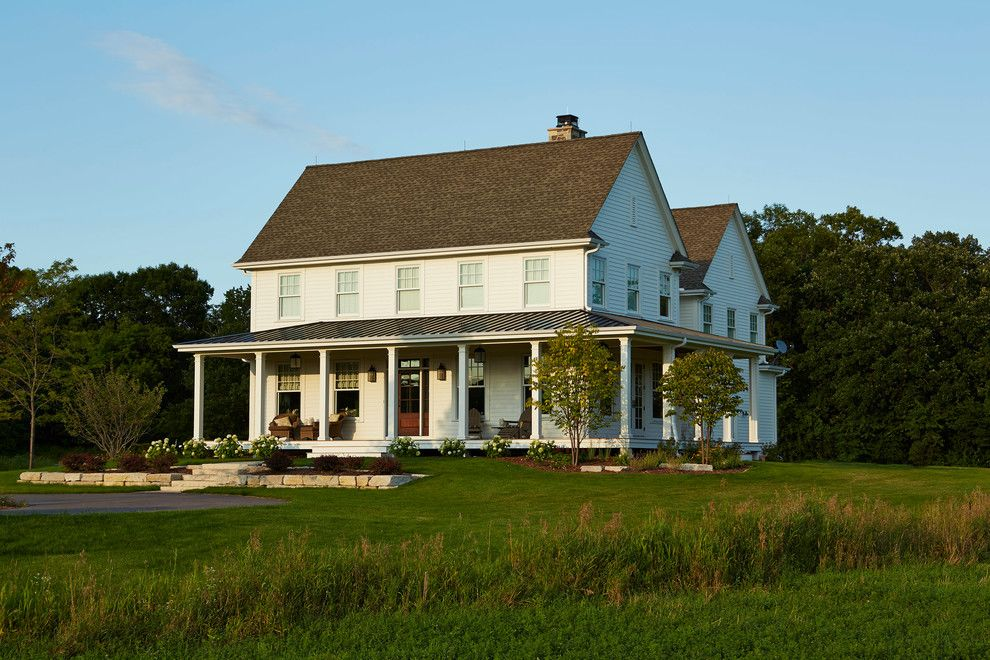Plymouth Mn Weather for a Farmhouse Exterior with a Farm and Modern Farmhouse by Hendel Homes