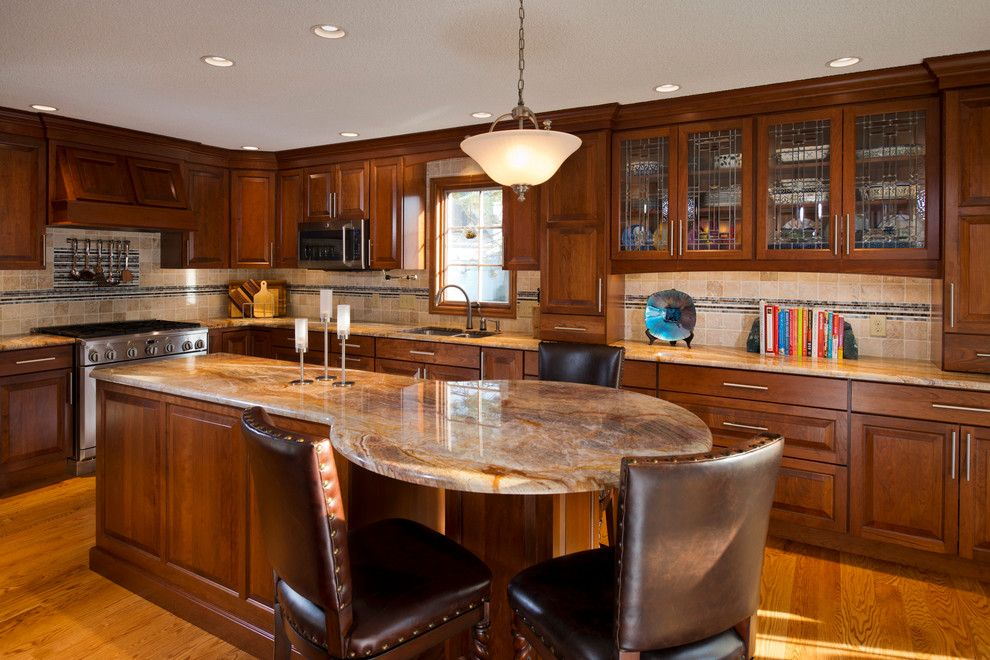 Pmac Lending Services for a Transitional Kitchen with a Tile Backsplash and Kitchen Remodel, Guilderland Ny by Bellamy Construction