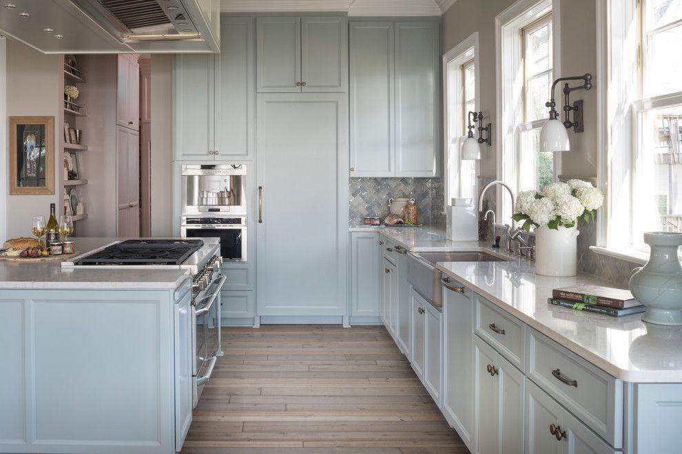 Polish Hearts Usa for a Beach Style Kitchen with a White Trim and Mondavi Designer Home by Silestone Usa