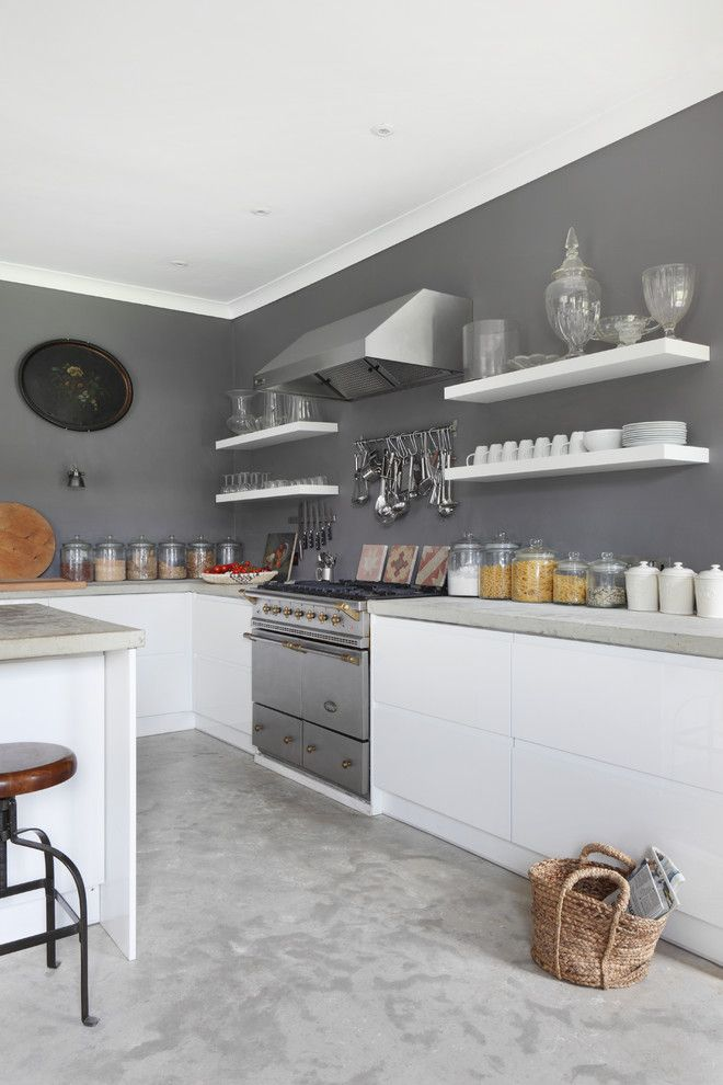 Polish Hearts Usa for a Farmhouse Kitchen with a Stable Conversion and Dorset Stable Conversion by Vsp Interiors