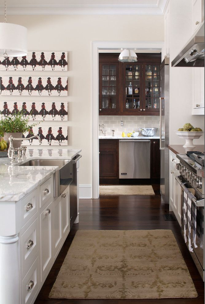 Polish Hearts Usa for a Traditional Kitchen with a Glass Front Cabinets and Kitchen  Chalet Interiors by Chalet