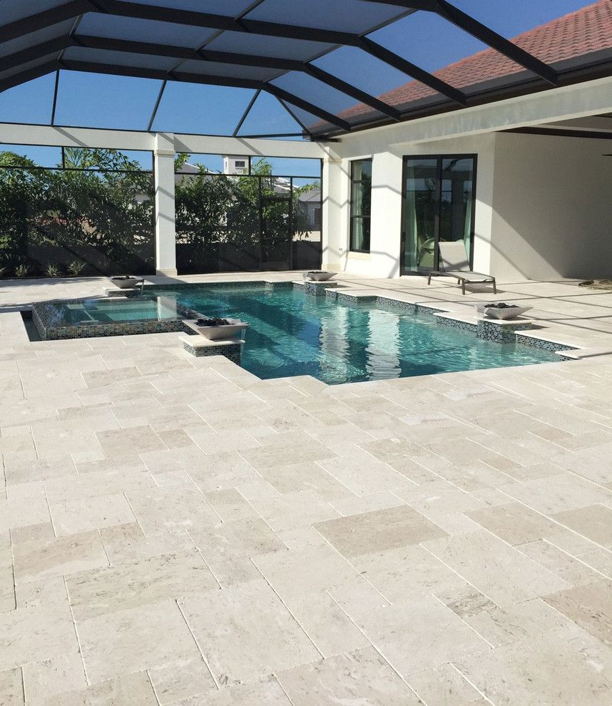 Pool Mart for a Beach Style Exterior with a Stone and Examples by Stone Mart