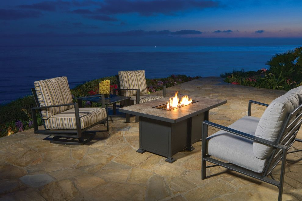 Pool Mart for a Beach Style Patio with a Outdoor Dining Furniture and Rp Brooks & Sons by La Mart Design Center
