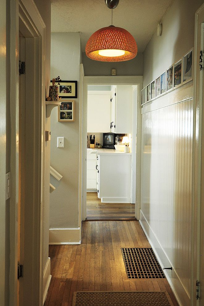 Popcorn Ceilings for a Eclectic Hall with a Eclectic and Downstairs Hall by Julie Smith