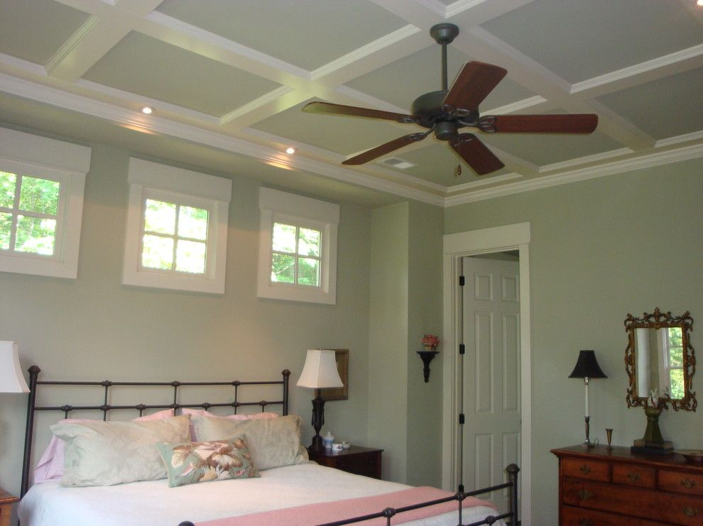 Popcorn Ceilings for a Traditional Bedroom with a Antiques and My Blissful Home by Myblissfulhome