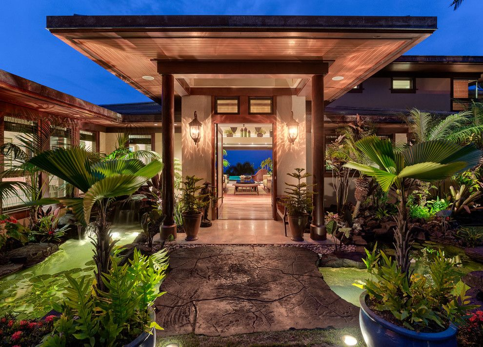 Portofino Island Resort for a Tropical Entry with a Planters and Outstanding Bayview Residence in a Private Setting by Carrie Nicholson, Rb, Bic, Hl1 Director