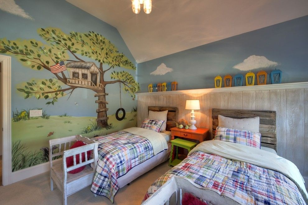 Pottery Barn Kids Nyc for a Eclectic Kids with a Weathered Wood and Eclectic Kids by Houzz.com