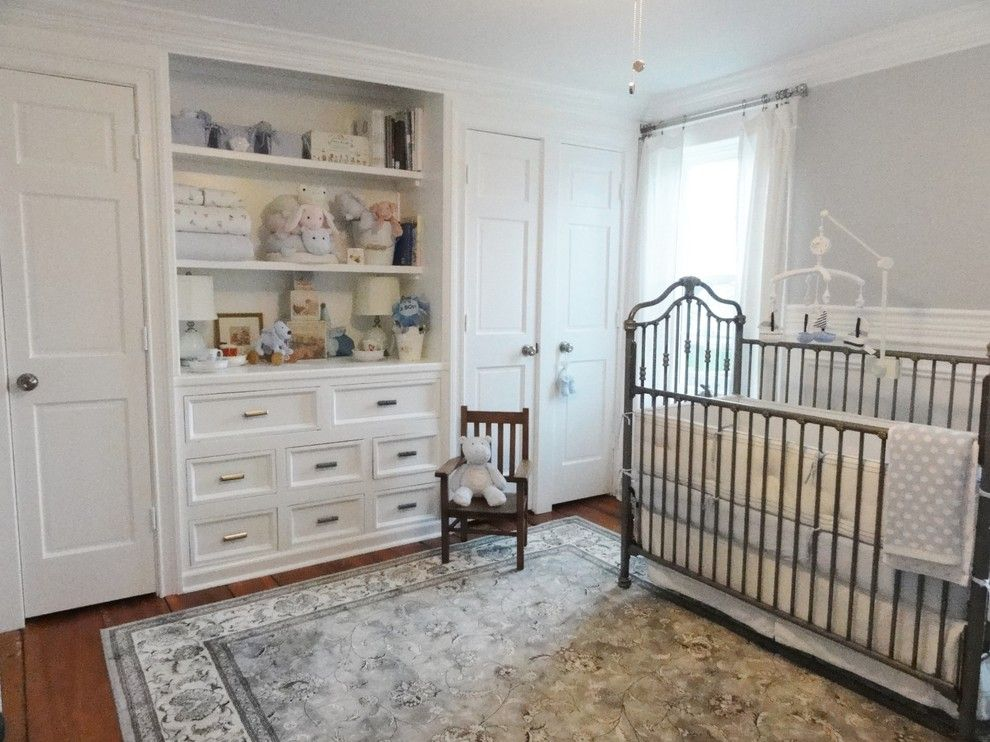 Pottery Barn Kids Nyc for a Traditional Nursery with a Crown Molding and Boy's Nursery by Sharpsfarm