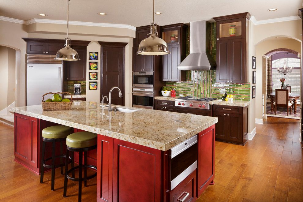 Power Home Remodeling Group Reviews for a Traditional Kitchen with a Traditional and Colorful and Elegant Cypress Home Remodel by Cindy Aplanalp Yates & Chairma Design Group