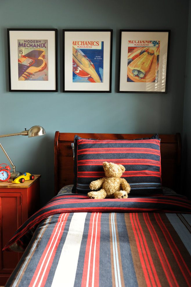 Ppg Paint Store for a Eclectic Kids with a West Coast Blue and Lisa Wrixon Interior Design by Lisa Wrixon Interior Design