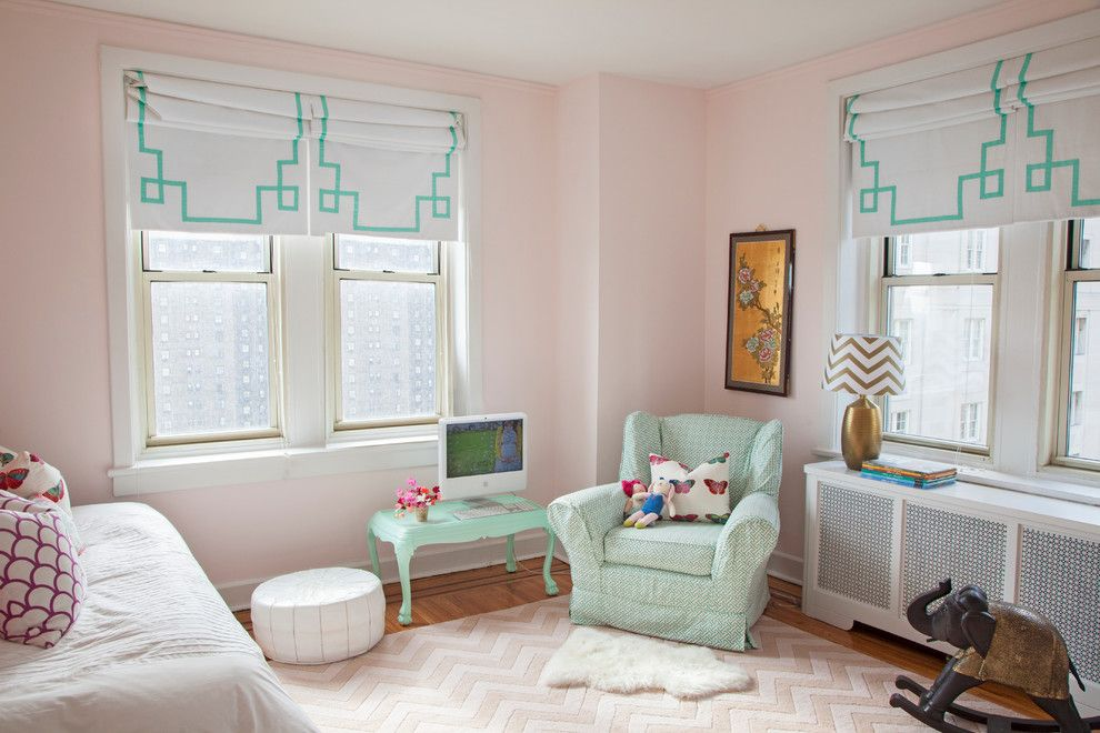 Ppg Paint Store for a Eclectic Kids with a Window Treatments and Philadelphia Penthouse by Caitlin Wilson Design