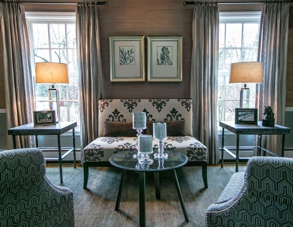 Ppg Paint Store for a Transitional Living Room with a Industrial End Tables and Country Estate by a Perfect Placement