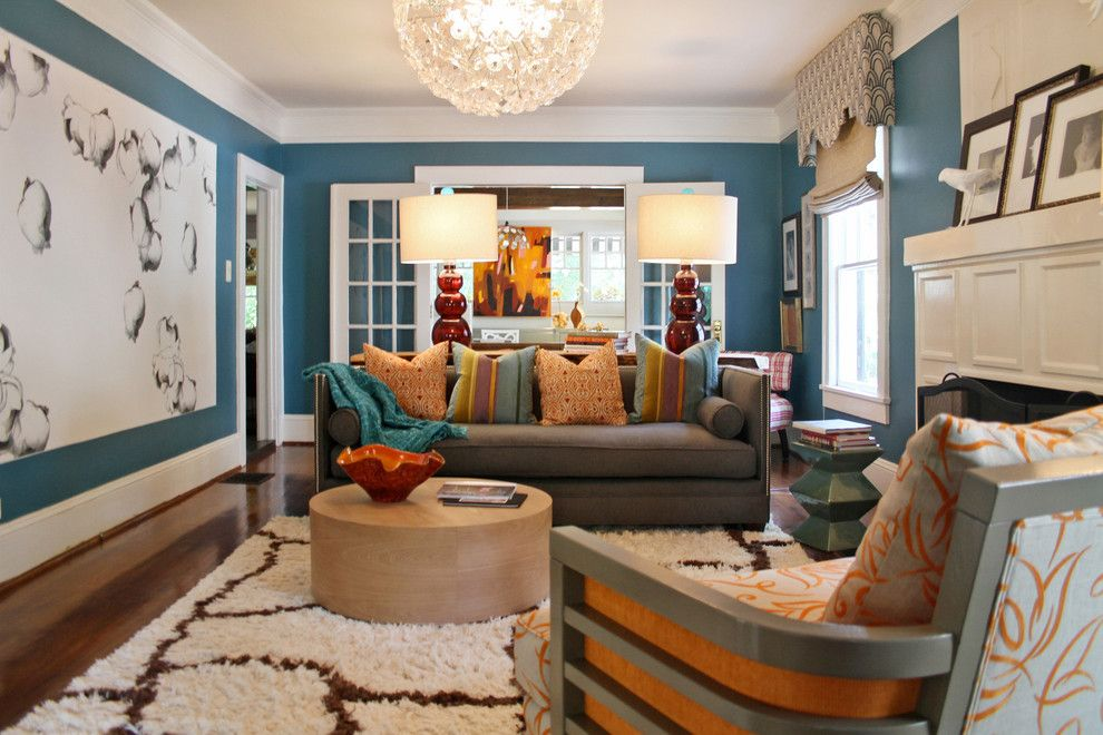 Ppg Paint Store for a Transitional Spaces with a Contemporary Sofa and Lucy and Company by Lucy and Company