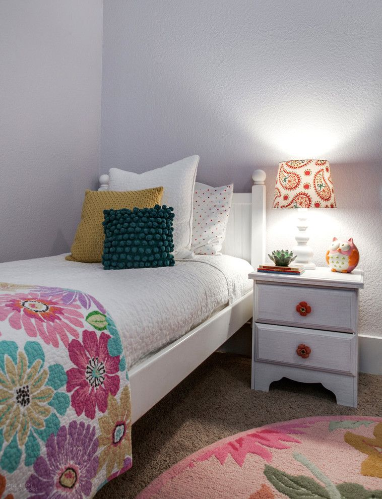 Primos Dallas for a Transitional Kids with a Pink and Ponder Transitional Girl's Bedroom by Carolina v. Gentry, Rid