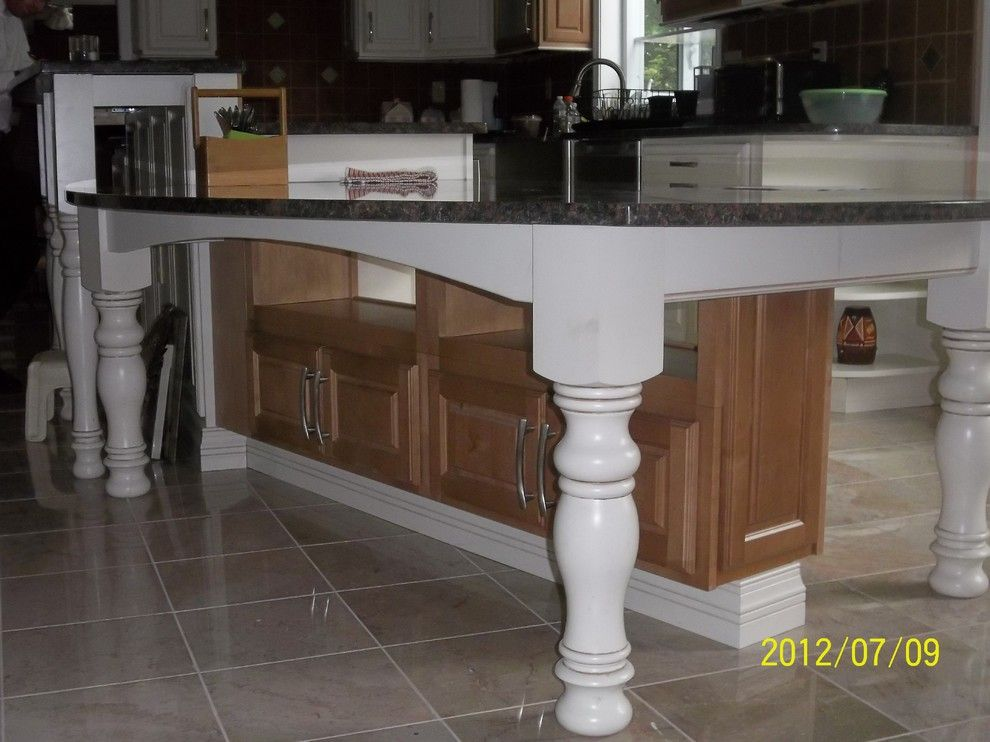Princeton Nj Weather for a Traditional Kitchen with a Diamond Vancouver Maple in Toasted Almon and First Floor Renovation West Windsor Nj by Lowe's of  Princeton , Nj