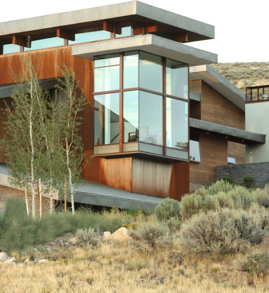 Promontory Park City for a Contemporary Exterior with a Roofline and Park City House by O Plus L