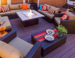 Promontory Park City for a Modern Deck with a Outdoor Dining and Clifton Park Deck by Bespoke Decor
