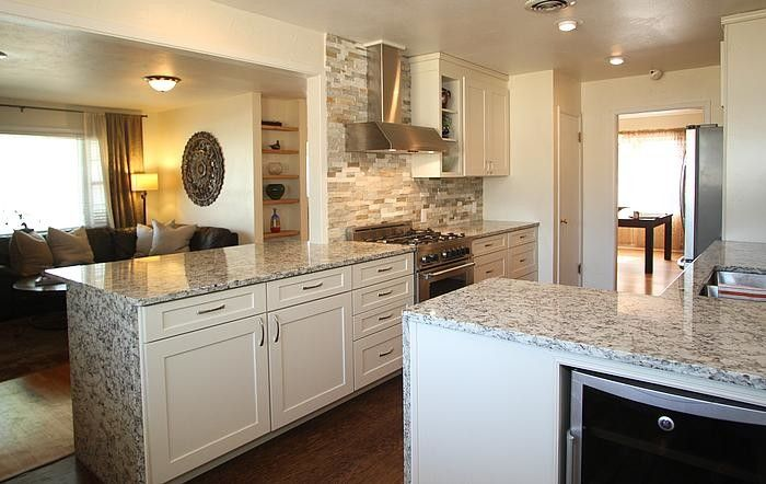 Prosource Wholesale for a Craftsman Kitchen with a Waypoint Linen on 650f and Sheddy Home by Prosource Wholesale
