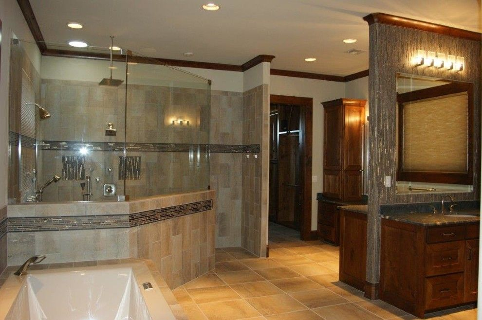 Prosource Wholesale for a Transitional Bathroom with a Transitional and Baths by Prosource Wholesale