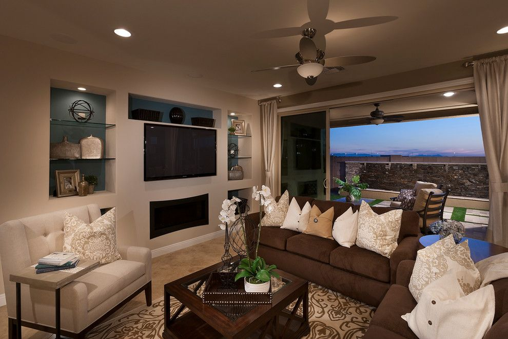 Pulte Homes Reviews for a Traditional Home Theater with a Architectural Photography and Pulte Homes