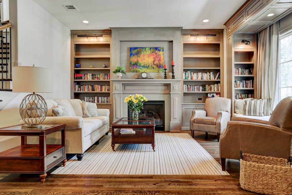 Pulte Homes Reviews for a Traditional Living Room with a Beige Area Rug and 19th by Southland Homes of Texas