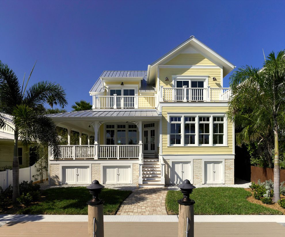 Pulte Homes Reviews for a Victorian Exterior with a Front Yard and Pass a Grille Intercoastal Home Rear Elevation by Jeffery M Wolf General Contractor, Inc.