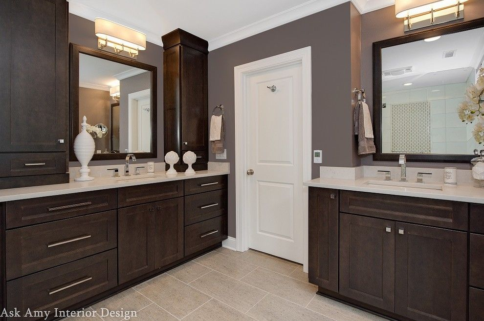 Quail Hollow Country Club for a Modern Bathroom with a Modern Light Fixture and Quail Hollow Country Club, Charlotte Nc by Ask Amy Interior Design