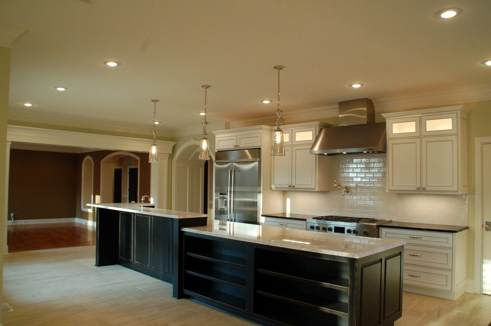 Quail Hollow Country Club for a Traditional Kitchen with a Custom Construction and Quail Hollow Country Club by McMillan Builders