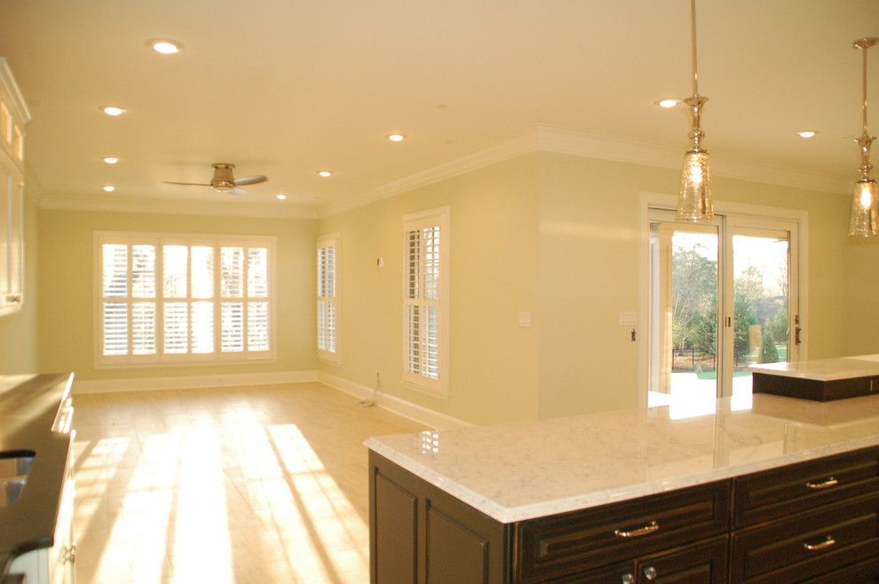 Quail Hollow Country Club for a Traditional Kitchen with a Luxury Homes and Quail Hollow Country Club by Mcmillan Builders
