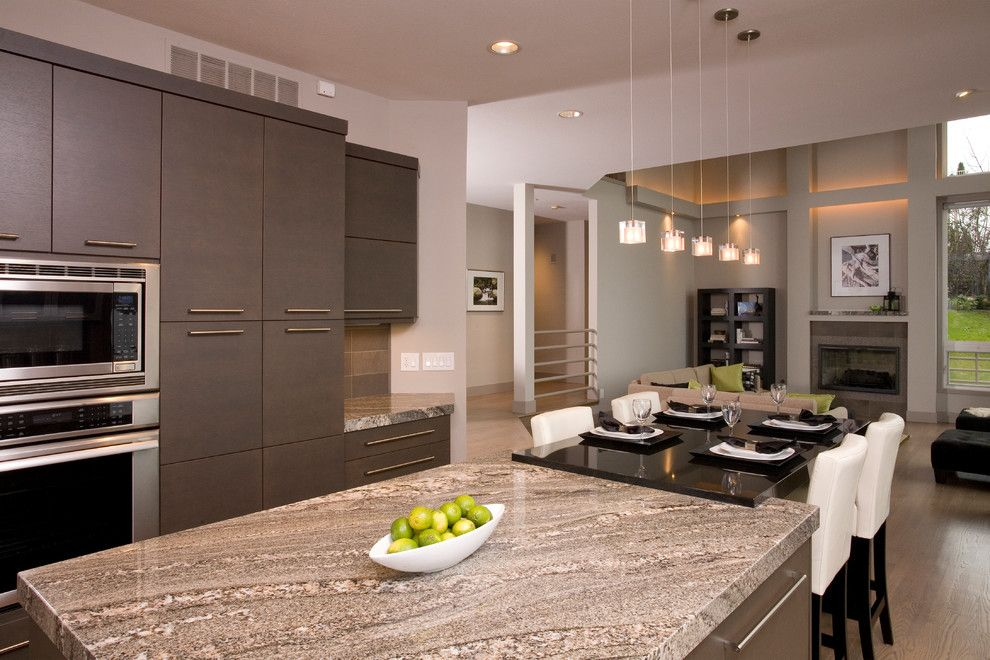 Rainforest Cafe Seattle for a Contemporary Kitchen with a Sacuri Granite and Beach Harmony by Candace Nordquist Interiors