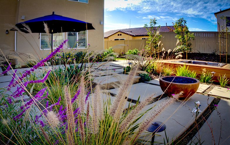 Rancho Bernardo Winery for a Contemporary Patio with a Outdoor Dining and Rancho Bernardo Residence    the Gas Powered Firebowl is Perfect for Nighttime E by Eco Minded Solutions