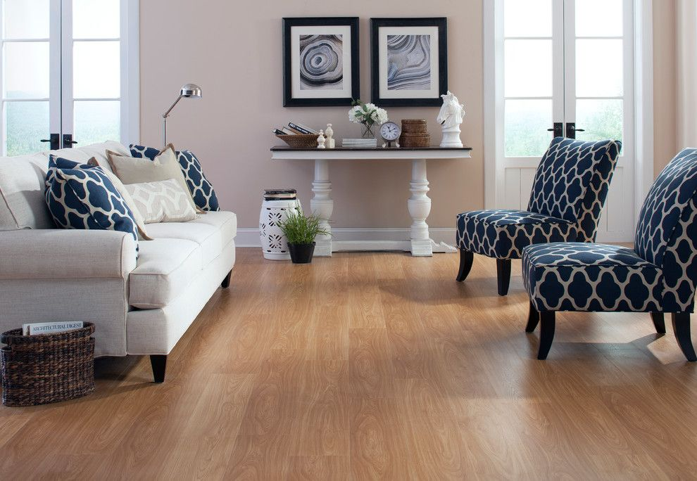 Raymond Building Supply for a Traditional Living Room with a Laminate and Traditional by Floor & Decor