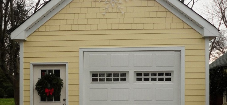 Raynor Doors for a Traditional Garage with a Hopewell and Detached Garage Renovation by A&E Construction