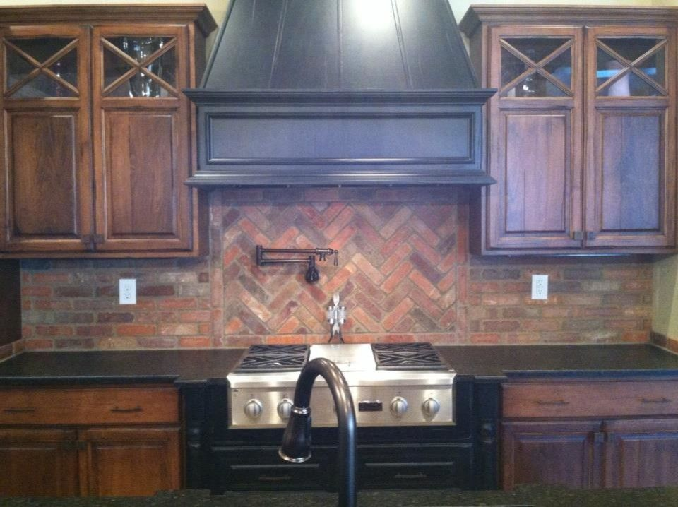 Red Robin Okc for a Traditional Kitchen with a Traditional and Brick Backsplash by Robin Straub