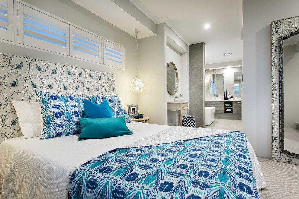 Redondo Beach Wa for a Beach Style Bedroom with a Master Bedroom and the Hampton Beach by Wa Country Builders