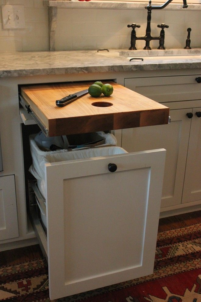 Removing Garbage Disposal for a Traditional Kitchen with a Organization and Lakewood Traditional Kitchen Remodel by Stringer Construction & Design