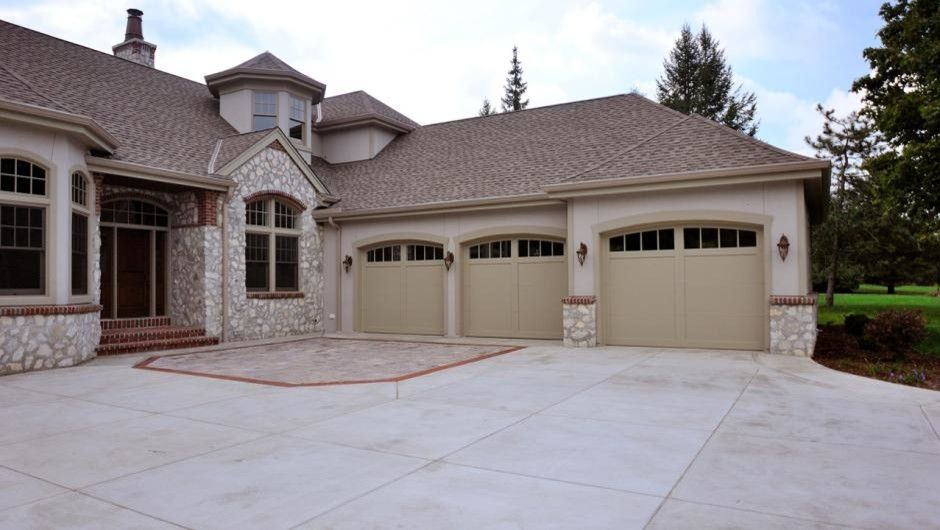 Rendition Homes for a Craftsman Garage with a Garage Doors and Carriage House Overlay by Empire Overhead Doors, Llc